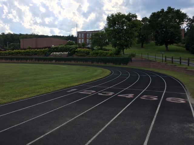 Lyndon track first curve