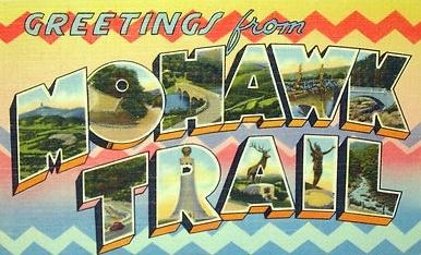 Mohawk Trail postcard